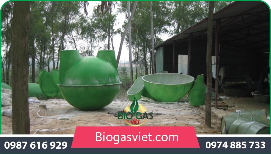 xử lý chất thải bằng công nghệbiogas