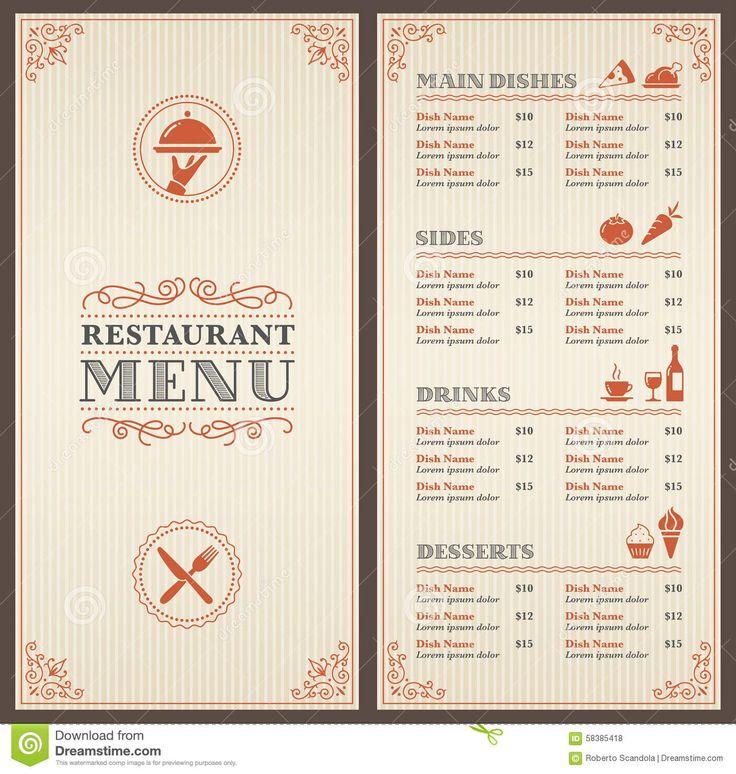 in nhanh menu nhà hàng tại hcm
