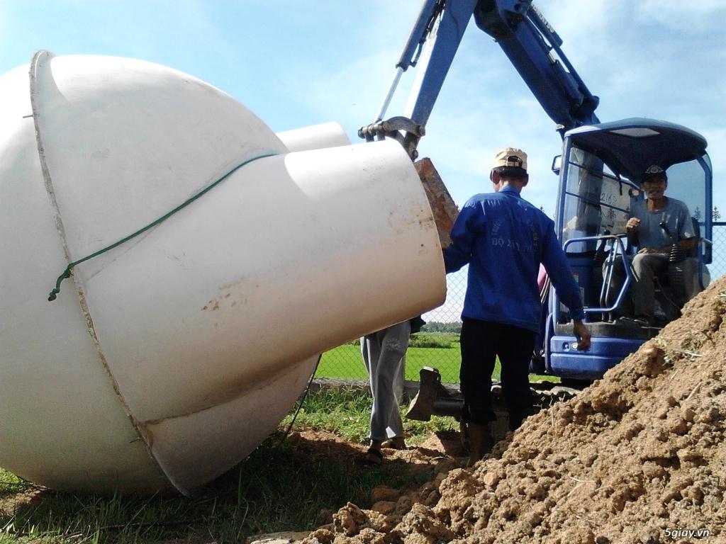 bể biogas trong xử lý chất thải