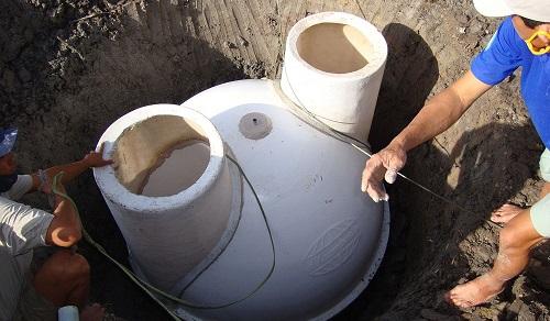 bể biogas composite